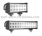 Vibration resistant IP 68 high power Cree LED light bar, high lumen LED off road driving light bar.