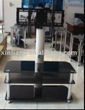 high quality glass plasma lcd tv stand
