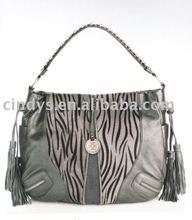 2011 Fashion zebra print handbags