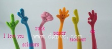 2012 wholesale(100pcs/lot) six styles rubber smiling expression finger ballpoint pen