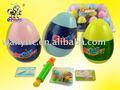 Suerte huevo juguete con la haba del Chocolate