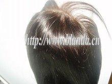 Brazilian remy human hair full lace wig women's toupee stock