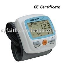 Honest wrist digital blood pressure meter with CE certificate