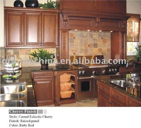 Cherry Wood Kitchen Cabinets View Autumn Blush Cabinet XMGCB Product
