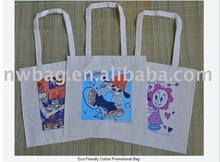 2011 Popular Tote bag with canvas , nonwoven, cotton, polyester