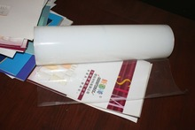 NEWEST!! transparant PE static protection film without liner and adhesive