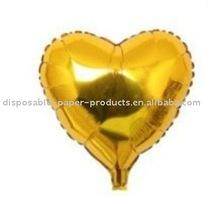 """Heart Shaped Helium Mylar Balloon 18"""",100 pcs/lot, Free Shipping"""
