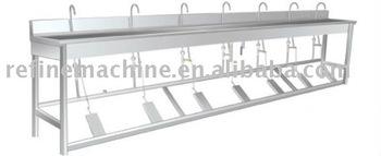 Foot Pedal type washing machine/Food processing machine