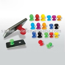 2012 hot sell silicone cell phone stand