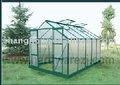 fácilmente montado aluminio jardín de invernaderos