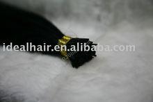 "22""high quality i-tip brazilian hair in stock kertain hair"