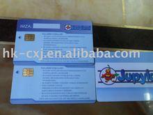 Full Color Printing SLE5542 Smart Card