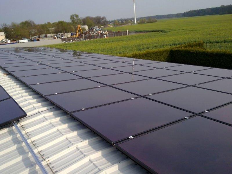 Thin film layer photovoltaic module panels, View TUV/ CE/ RoHS/ IEC ...