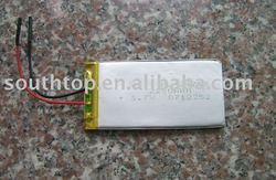 Lithium polymer battery cell 3.7V 2250mAH