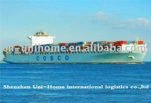 shipping from shanghai to Surabaya/Indonesia