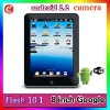 NEW+tablet pc android 2.2+VIA8650+2GB 256MB 800MHZ+WIFI CAMERA FLASH 10.1+USB 3G support+Slim design case