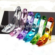 Glass crystal high heel shoes gifts