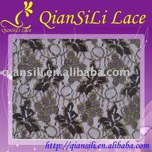 Nylon Lace Fabric, Nylon Spandex/Lycra Polyester Lace Fabric, Stretched Lace Fabri c