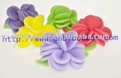 useful home decoration Christmas craft bath sponge flower
