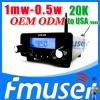 Fmuser FSN01 fm transmitter 1mw FCC 5.8ghz video transmitter Lanyue