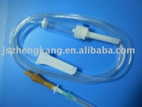 Infusion set -suitable for use with B Braun Infusomat,Terumo and tops infusion pumps.