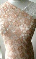 nylon raschel cheap floral lace fabric