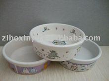 Ceremic pet bowl for Dog&Cat