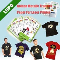 Golden Metalic Sublimation Paper for Laser Printers