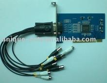 4ch video/ 2ch audio MV9200 chipset built-in DDNS DVR card