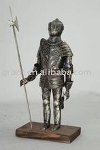 Souvenirs/Nautical/Samurai/Antique/Medieval/Decotation/Sword/Movie/Metal craft/Trique Initation Crafts Armour J54XW