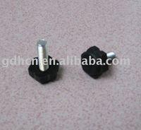 M6 Furniture plastic adjustable leg,thumb screw