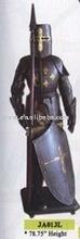 Nautical/Samurai/Antique/Medieval/Decotation/Sword/Movie/Metal craft/Trique Initation Crafts/Metal home decoration Armour JA013L