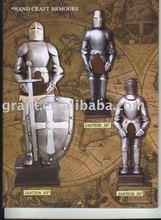 Antique/Medieval/Decotation/Sword/Movie/Metal craft/Trique Initation Crafts/Metal home decoration Armour JA0725A JA0703B JA0701B