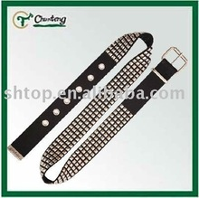 100% polyester decorative belts for ladies