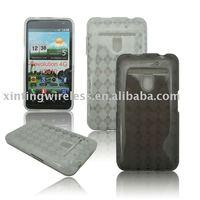 Suitable for LG Revolution 4G VS910 TPU Diamond Pattern Trans