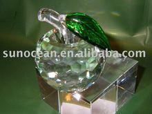 K9 High quality crystal apple