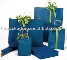 Pacific Blue Paper Bag