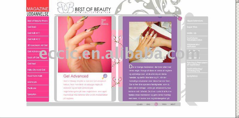 Advertising Nail Art