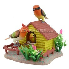 Sound Control Bird Toy House & Battery operated toy