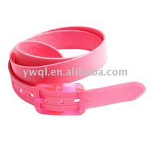 2012 Girls' Fashion Silicone Belt