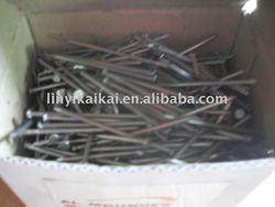 black steel nails