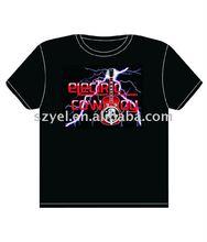 Sound and Music Activated EL Visualizer VU-Spectrum Disco Dancer GADGET LED Light Flash EL T-Shirt (4*AAA)