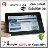 Hot Selling - 7 Inch Capacitive S5PV210 Android 2.2 Tablet PC MID, support WIFI & 3G