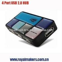 Rouge box USB hubs, USB Hubs cube shape