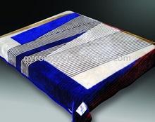 100%polyester printed fleece mink blanket 200*240cm