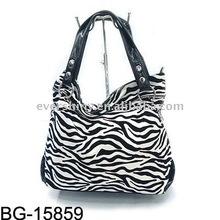 2011 fashion zebra lady handbag