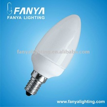 Low power 1.2W Candle LED bulb E14