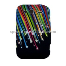 meteors TPU soft case skin back cover for HTC Wildfire G8