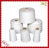 16s/2 raw white ring spun recycle polyester yarn