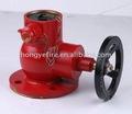 el fuego de latón de la válvula hidrante